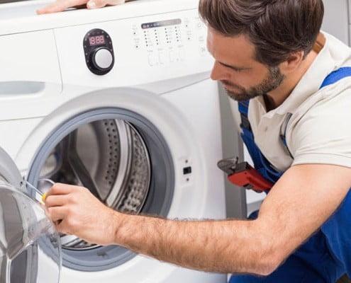 9 - علت روشن نشدن ماشین لباسشویی