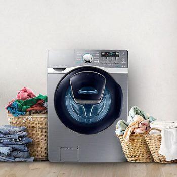 Samsung 1874588316 au feature combo wd13j7825kp 57884062 1 350x350 - علت صدای زیاد هنگام خشک کردن در ماشین لباسشویی