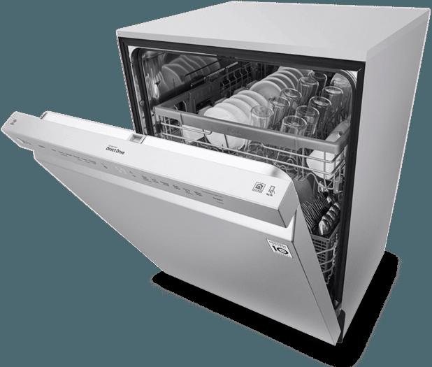 تعمیر ماشین ظرفشویی به علت کثیف شدن ظروف