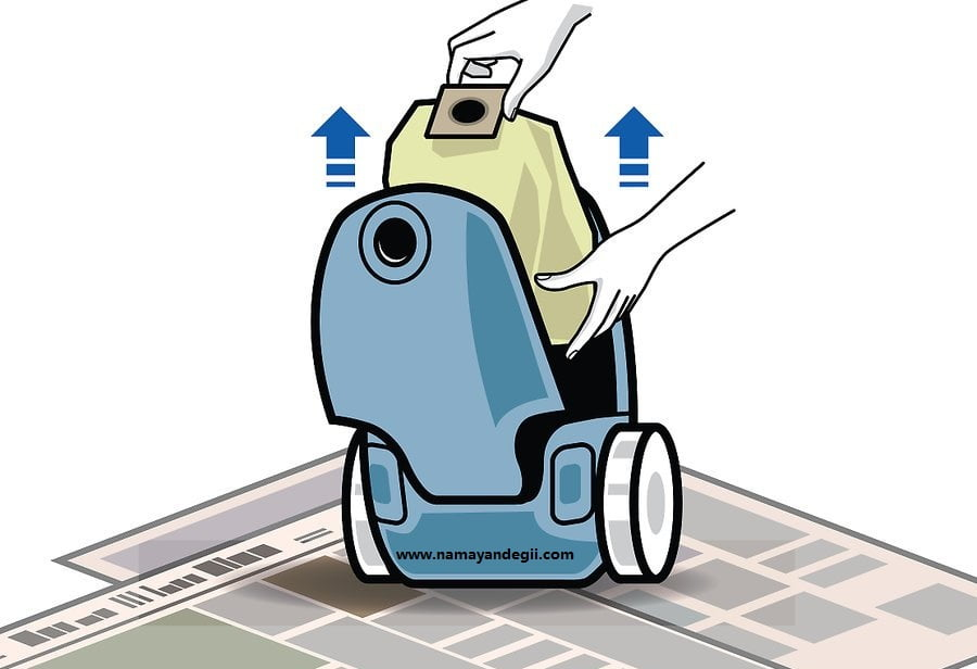 aid1706083 v4 900px Change a Bag on a Vacuum Cleaner Step 04 - نحوه تعویض کیسه جاروبرقی