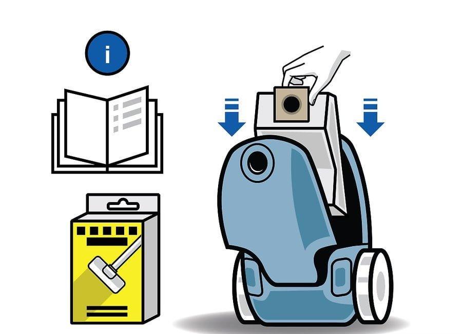 aid1706083 v4 900px Change a Bag on a Vacuum Cleaner Step 06 - نحوه تعویض کیسه جاروبرقی