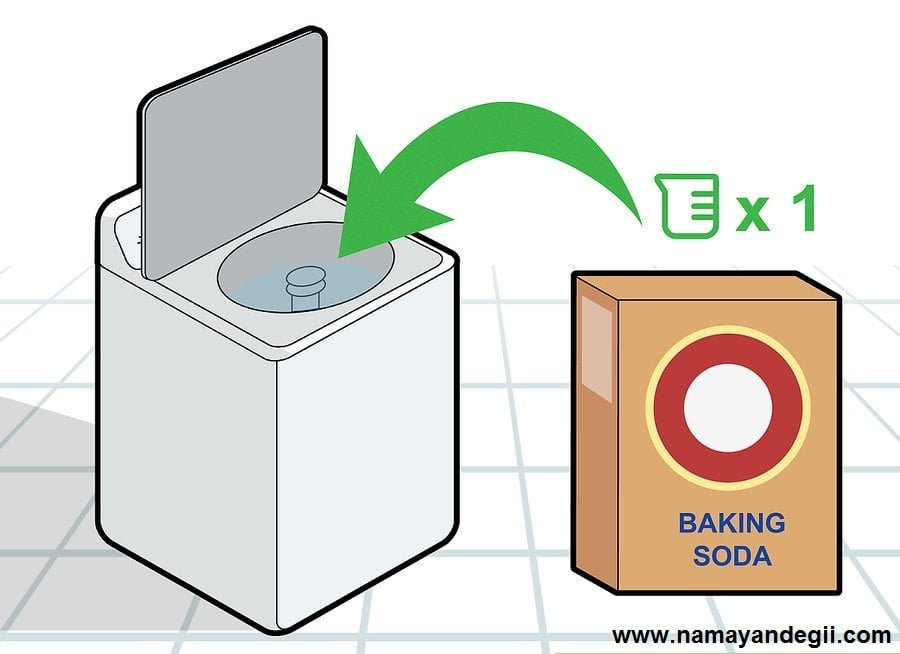 aid8660852 v4 900px Clean a Washing Machine with Vinegar Step 3 Version 2 - تمیز کردن ماشین لباسشویی با سرکه