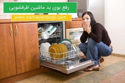 رفع بوی بد ماشین ظرفشویی