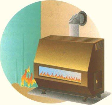 بخاری گازی